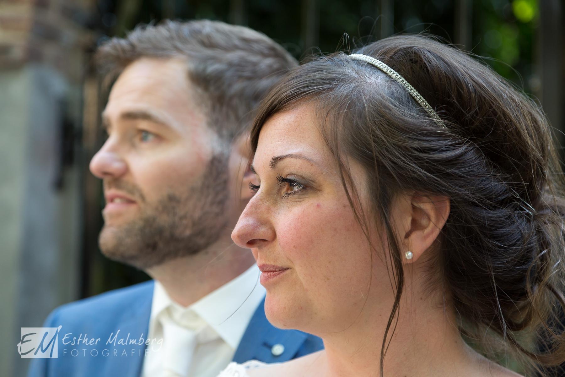 Bijzondere bruiloft in de tuin van museumcafé Gouda