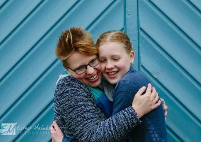 Moeder en dochter, connectie en liefde fotografie Gouda