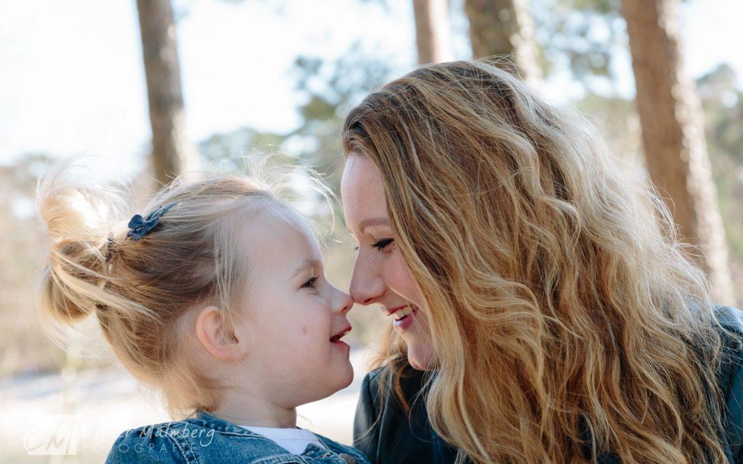 Moeder-kind fotosessie in Gouda