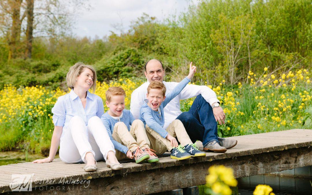 Fotoproject gezinnen met meerlingen