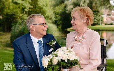 Intieme bruiloft in Voorburg