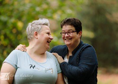 Loveshoot twee vrouwen Fotograaf Gouda