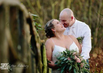 Leuke trouwfoto Bruidsfotograaf Woerden Esther Malmberg Fotografie Gouda