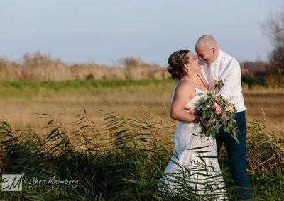Spontane trouwfoto Bruidsfotograaf Woerden Esther Malmberg Fotografie Gouda