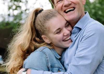 Tieners op de foto fotoshoot Houtmanplantsoen Gouda